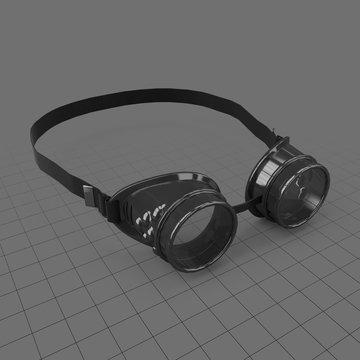Steampunk goggles 1