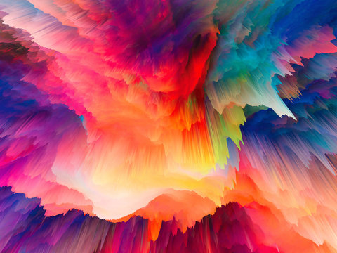 Most Beautiful Colorful Explosion