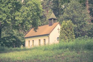 Waldkapelle Rangau, Retzelfembach, vintage
