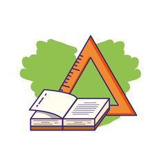 triangle rule with textbook supply