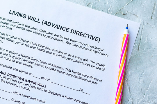 Living Will Advance Directive