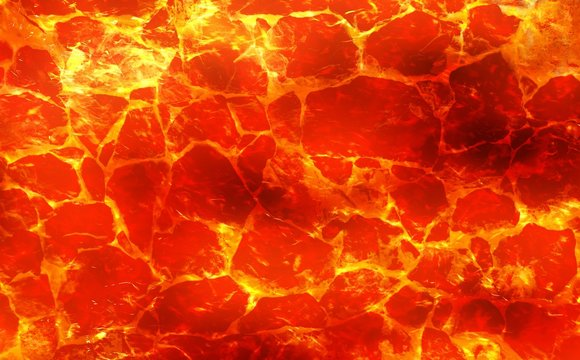 red hot lava pattern background