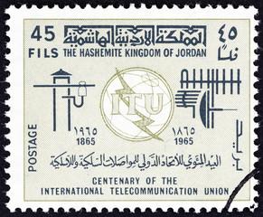 I.T.U. emblem and symbols (Jordan 1965)