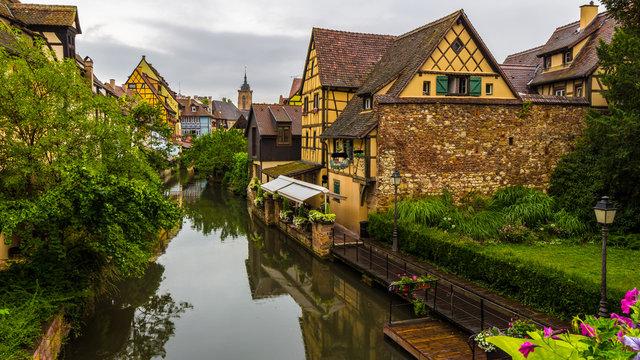 Petite Venise in Colmar