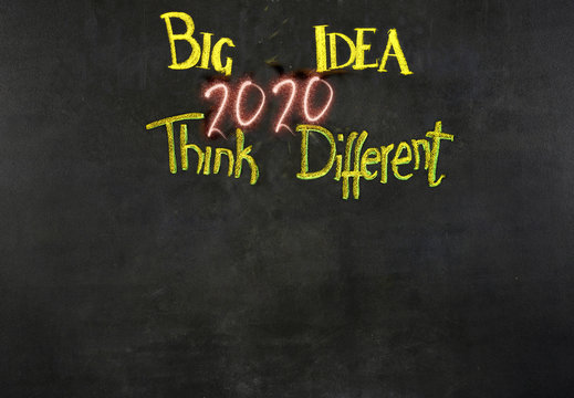 Conceptual ideas for New Year 2020