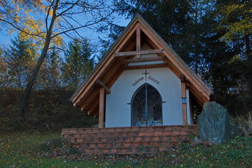 Chapel of Sant Hubertus near Pitten in Lower Austria,Europe