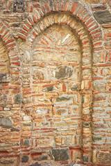 Old urban brick wall