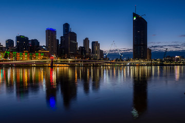 Sunrise from South Bank, Brisbane 3