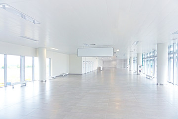 Empty hall in the airport, Wall mural