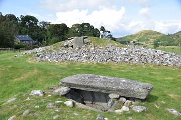 Nether Largie South cairn, Kilmartin, Argyll, Scotland