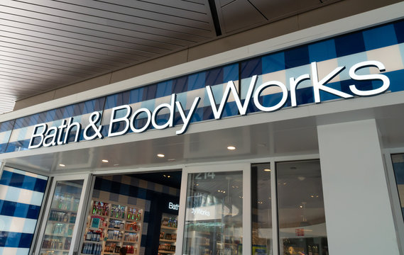 Bath & Body Works Retail Store Exterior and Trademark Logo
