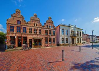Norden Ostfriesland Markt Fototapete