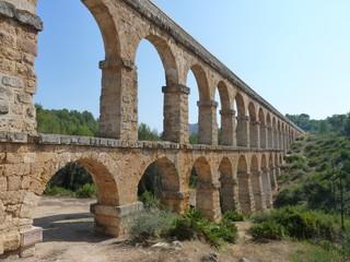 Roman aqueduct, Tarragona, Catalonia, Spain