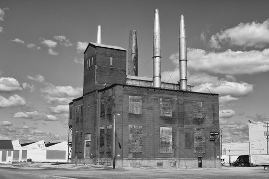 Abandoned former factory power plant - Worn, Broken and Forgotten I