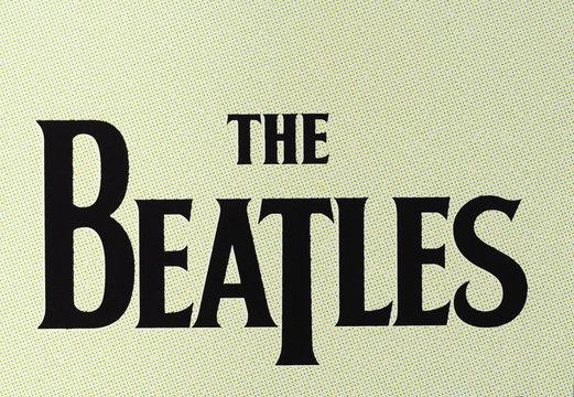 LONDON, UK - CIRCA APRIL 2016: Beatles logo