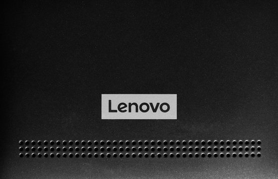 BEIJING, CHINA - CIRCA DECEMBER 2017: Lenovo logo