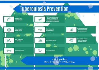 recommendations for the prevention of tuberculosis picture color