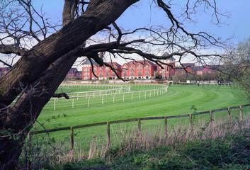 stratford hurdles national hunt racecourse warwickshire england uk