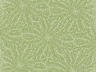 Tropical Leaves Abstract Pattern Background