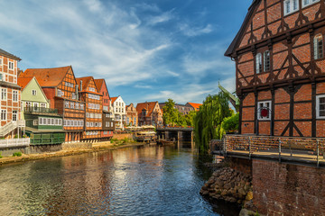 Lüner Mühle mill in Lüneburg, Lower Saxony, Germany Fototapete