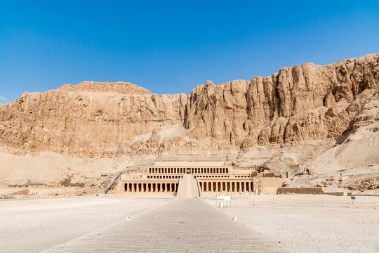 Mortuary Temple of Hatshepsut, Luxor, Egypt