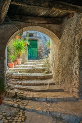 Scenic sight in Artena, old rural village in Rome Province, Latium, central Italy.