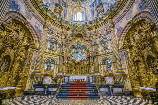 "The beautiful church ""Sacra Capilla del Salvador"" in Ubeda, Jaen, Andalusia, Spain."