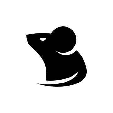Mouse Logo. Icon design. Template elements