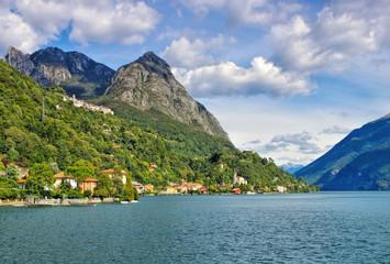 San Mamete am Luganersee, Italien - San Mamete small village on Lake Lugano