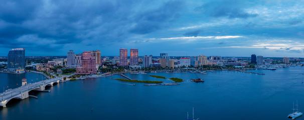 Photo sur Toile London West Palm Beach Panorama