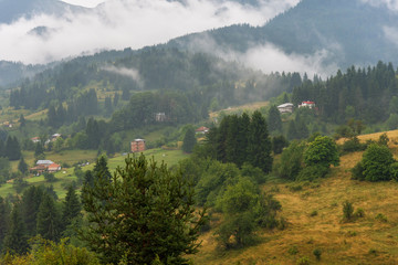 Gela village after the rain.