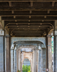 Under the Fremont Bridge, known as the Hall of Giants