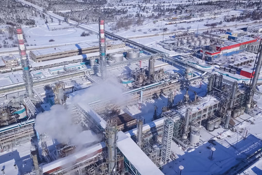 Oil refinery and petrochemical plant
