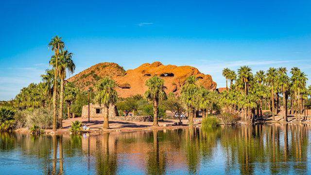 Beautiful Papago Park in Phoenix, Arizona