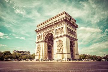 Paris - Arc de Triomphe Fotomurales