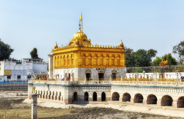 The Golden Temple of Amritsar, Punjab, India