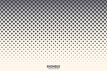 Rhombus Vector Abstract Geometric Technology Background
