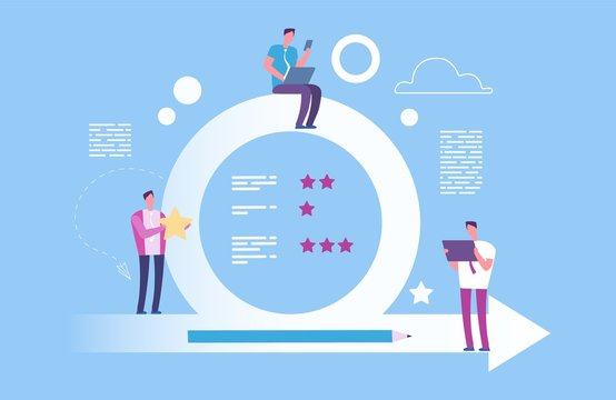 Agile concept. Vector agile metodoligy illustration. Effective organization of the process of achieving goals. Effective professional optimization, management process agile