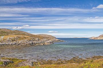 Fjordlandschaft bei Sandviksberget
