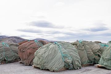 Lagerung von Schleppnetzen