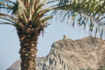 Old fort in Muscat
