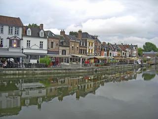 Poster Ville sur l eau Ville d'Amiens
