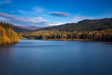 Obraz Beskid Śląski - Carpathians Mountains  - fototapety do salonu