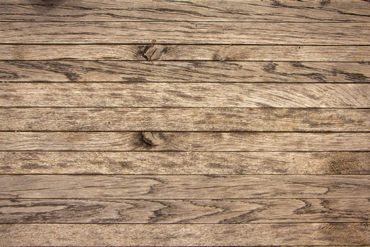 Old Yellow pine wood texture. Floor surface background