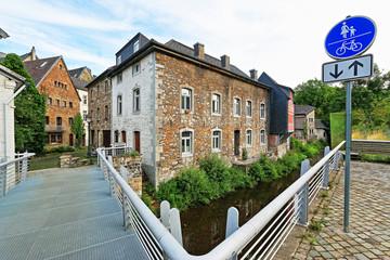Blick in die Altstadt von Kornelimünster