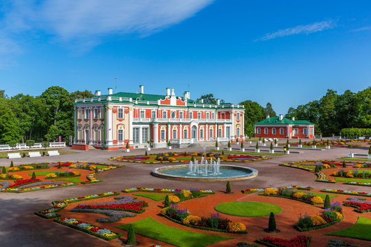 Baroque Kadriorg Palace built for Catherine I of Russia by Peter the Great in Tallinn