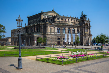 Semperoper (Saxon State Opera) Dresden, Germany
