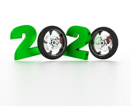 Motorbike sport wheel 2020 Design
