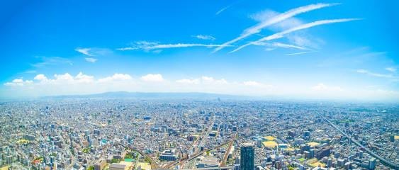 大阪・都市景観・パノラマ