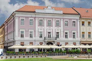 Timișoara Piața Unirii Banca Șvăbească